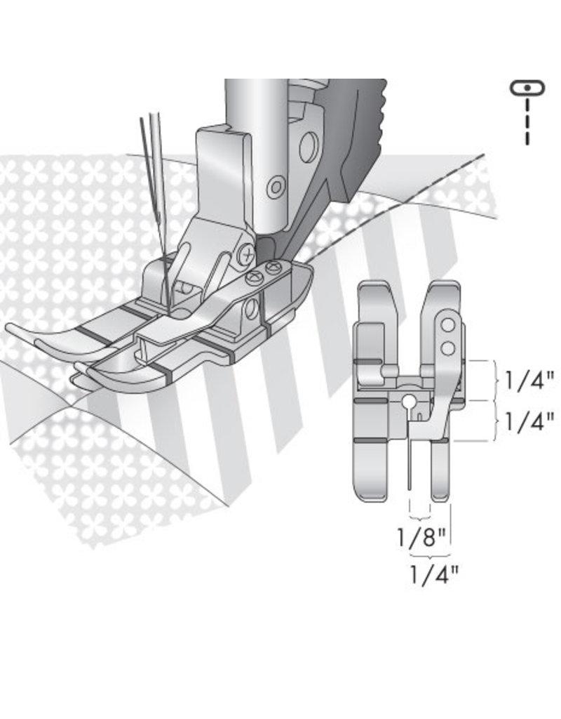 Pfaff 308-4C PFAFF Pied piqûre dans la couture avec système IDT™