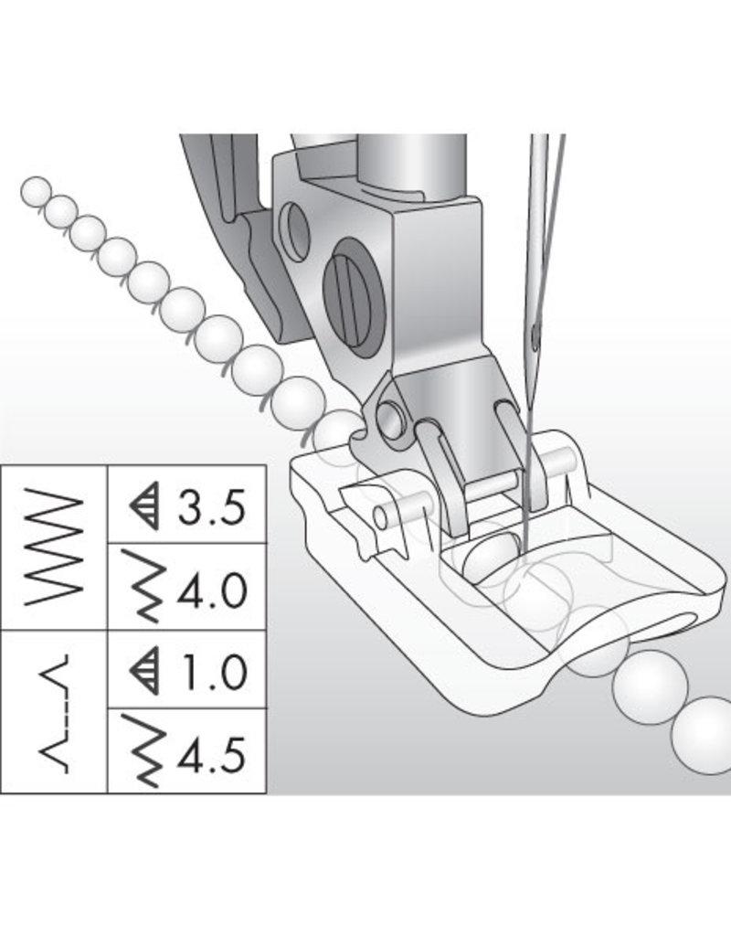 Pfaff Pfaff 4mm beading foot