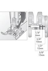 Pfaff 308-5F PFAFF Pied guide de couture avec système IDT™