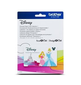 Brother Collection 2 Gabarits Princesses Disney