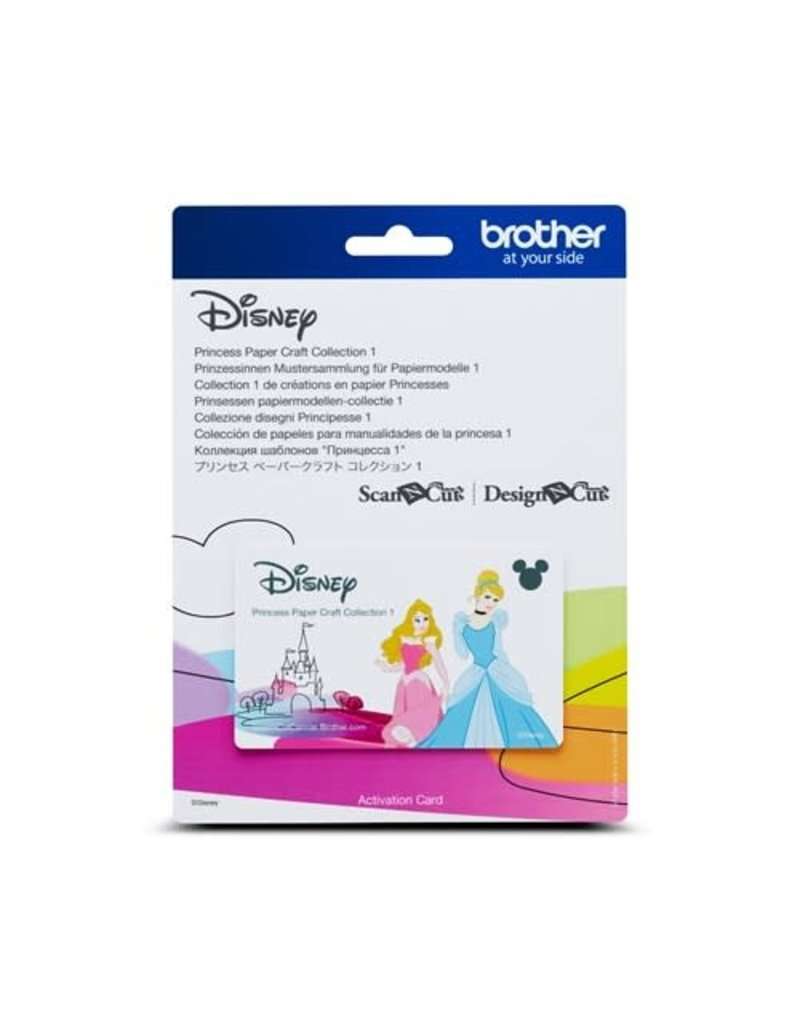 Brother Disney Princess Pattern Collection 2