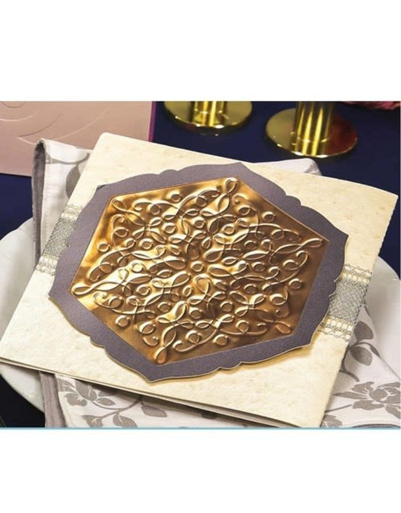 Brother Embossing Brass Metal Sheets