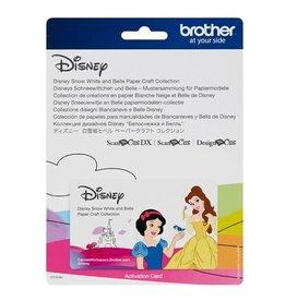Brother Collection de créations en papier Blanche Neige et Belle de Disney pour ScanNCut CM550-CM650-SDX225