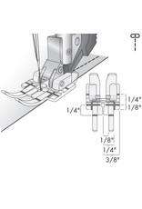 Pfaff 308-5B PFAFF Pied pour quilting transparent 1/4 avec système IDT™