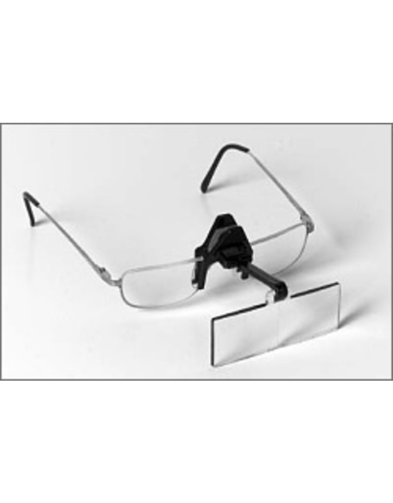 "Edroy spring clip opticaid clip-on magnifier, 10"" dist."