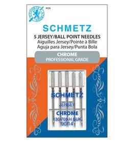Schmetz Aiguilles Schmetz Chrome à Jersey 90/14