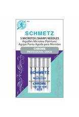 Schmetz Aiguilles de chrome microtex Schmetz - 60/8