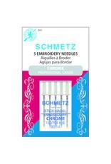 Schmetz Aiguilles de chrome à broder Schmetz - 90/14