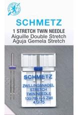 Schmetz Aiguilles Schmetz Double à Extensible 75/11, 4 mm