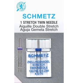 Schmetz Schmetz strech twin needle - 75/11, 4 mm