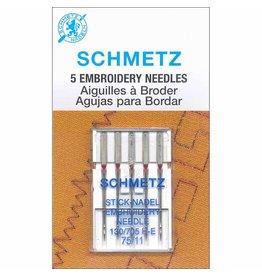 Schmetz Schmetz embroidery needles - 75/11