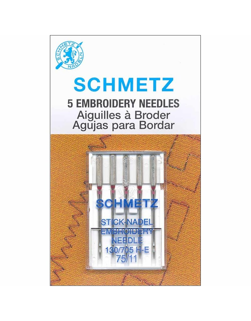 Schmetz Schmetz embroidery needles - 75/11