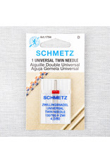 Schmetz Schmetz needles twin universal 80/12, 4 mm