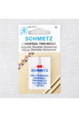 Schmetz Aiguille universelle double Schmetz, 100/16, 4 mm