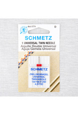 Schmetz Schmetz universal twin needle - 100/16, 4 mm