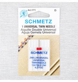 Schmetz Aiguilles Schmetz double Universelle 100/16, 4 mm