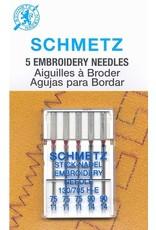 Schmetz Schmetz needles Embroidery Assorted 75/11 to 90/14