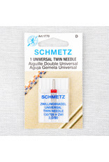 Schmetz Aiguilles Schmetz Double Universelle 90/14, 3 mm