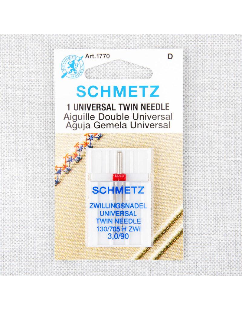 Schmetz Aiguille universelle double Schmetz  - 90/14, 3 mm