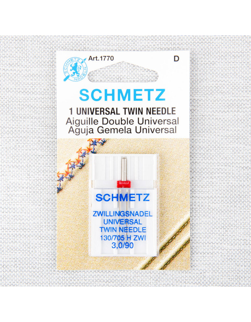 Schmetz Schmetz universal twin needle - 90/14, 3 mm
