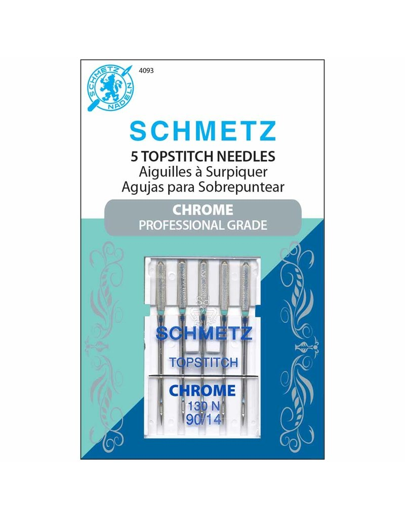 Schmetz Schmetz chrome topstitch needles - 90/14