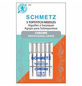 Schmetz Aiguilles Schmetz Chrome à surpiquer 80/12