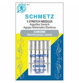 Schmetz Aiguilles Schmetz Chrome Stretch 90/14