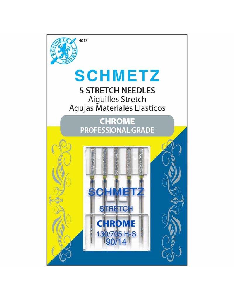 Schmetz Aiguilles Schmetz Chrome à Extensible 90/14