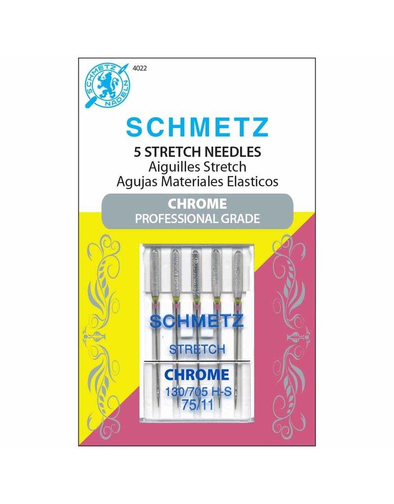 Schmetz Aiguilles Schmetz Chrome à Extensible 75/11