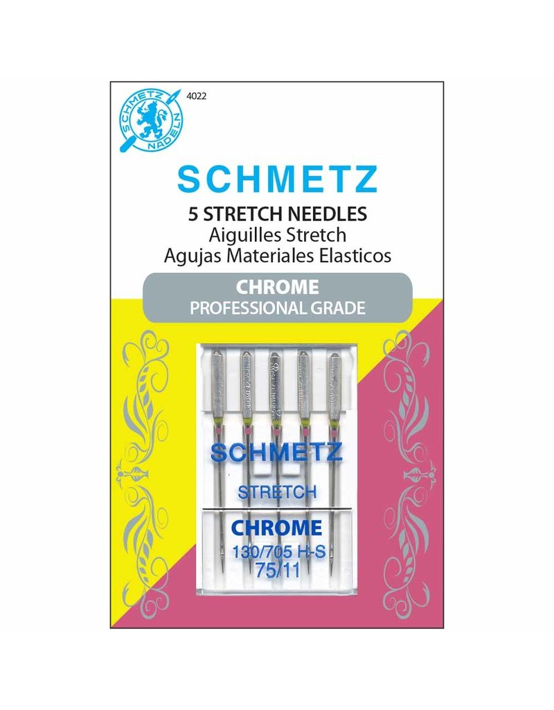 Schmetz Schmetz chrome stretch needles - 75/11