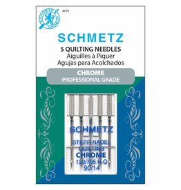 Schmetz Aiguilles Schmetz Chrome à Courtepointe 90/14