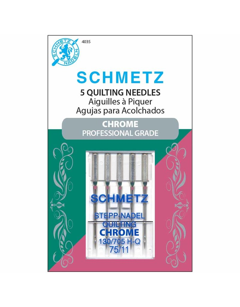 Schmetz Schmetz chrome quilting needles - 75/11