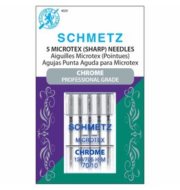 Schmetz Schmetz chrome microtex needles - 70/10