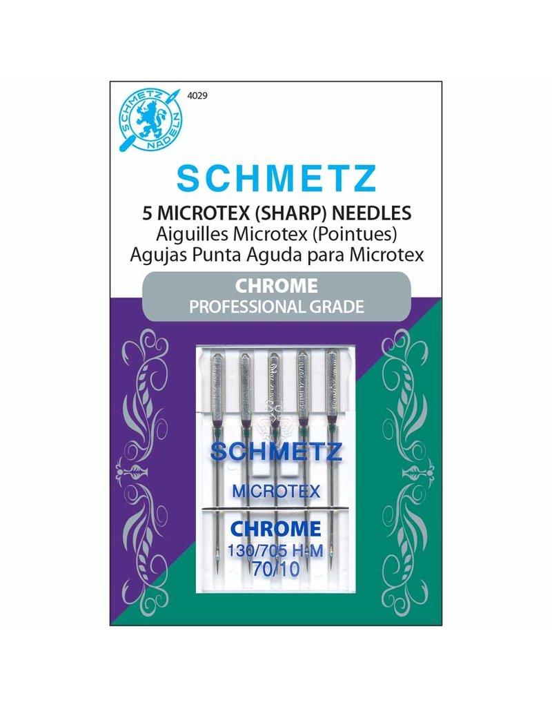 Schmetz Aiguilles de chrome microtex Schmetz - 70/10