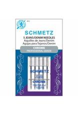 Schmetz Aiguilles Schmetz Chrome à Denim 100/16
