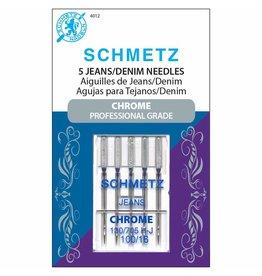 Schmetz Aiguilles Schmetz Chrome à Jersey 100/16