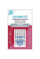 Schmetz Aiguilles de chrome à broder Schmetz - 75/11