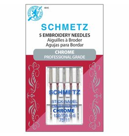 Schmetz Schmetz chrome embroidery needles - 75/11