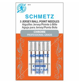 Schmetz Schmetz chrome jersey/ball point needles - 80/12