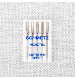 Schmetz Aiguilles Schmetz microtex 80/12