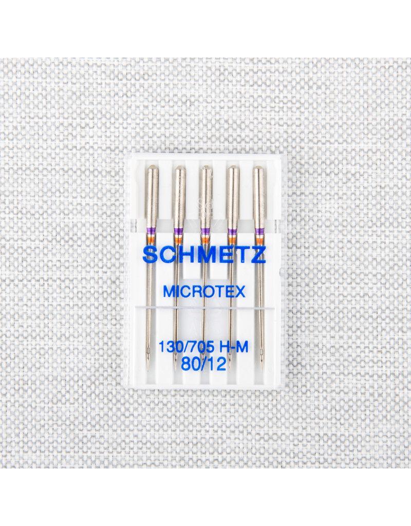 Schmetz Aiguilles microtex Schmetz  - 80/12