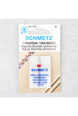 Schmetz Schmetz universal twin needle - 70/10 - 1.6 mm