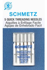 Schmetz Schmetz quick threading needles - 80/12