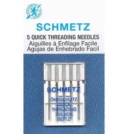 Schmetz Schmetz quick threading needles - 80/12