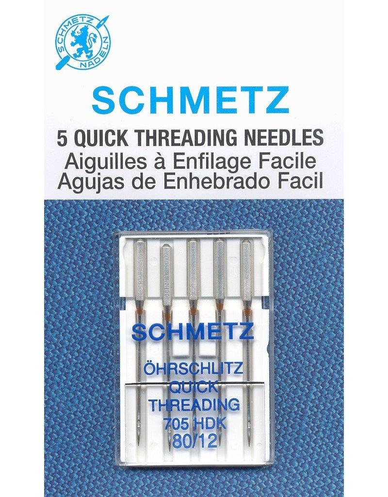Schmetz Schmetz needles quick threading 80/12