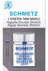 Schmetz Schmetz stretch twin needle - 75/11, 2.5 mm