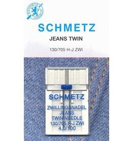 Schmetz Schmetz denim twin needle - 100/16, 4 mm