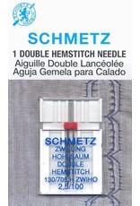 Schmetz Schmetz hemstitch twin needle - 100/16