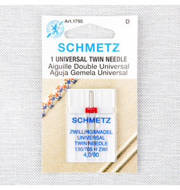 Schmetz Schmetz universal twin needle - 90/14, 4 mm