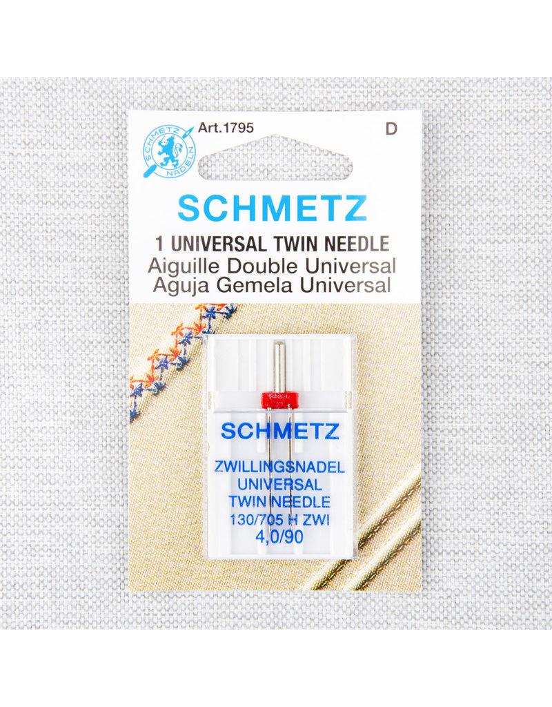 Schmetz Schmetz needles twin universal 90/14, 4 mm